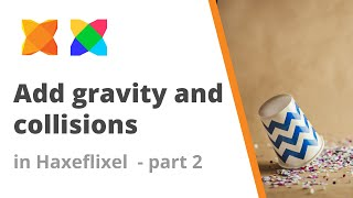10. How to add gravity to a sprite and collisions in Haxeflixel - Part 2