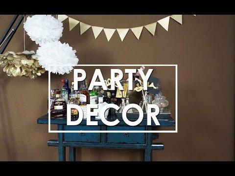 Einfache DIY Party Deko Ideen - Pompoms selber basteln - Fotoaccessoires, Wimpelgirlande