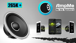 Play Same Music On Multiple Devices Using AMPME   Hindi