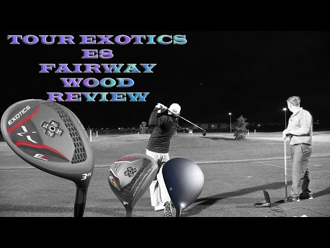 Tour Edge Exotic E8 Fairway Wood Golf Club Review @ Golf Central BNE