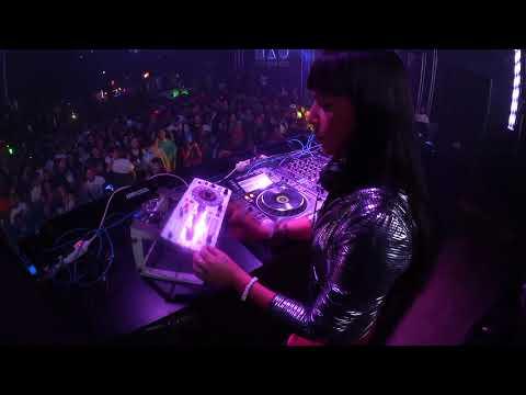 Fatima Hajji - From Techno to Hard - 3H @ Wow Music Club (Granada)  31 10 2016 Videoset Resume