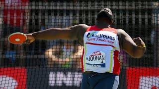 Albi 2020 : Lolassonn Djouhan avec 60,07 m au lancer du disque