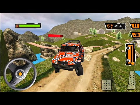 6x6 Offroad Jeep Drive 2019 | Offroad Truck Simulator Android Gameplay