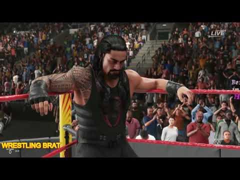 Roman Reigns Vs Bray Wyatt | WWE Gameplay PS4 (WWE 2K19)