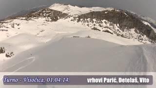 preview picture of video 'Turno - Visočica, Parić, Đetelaš i Vito, 01.04.14'
