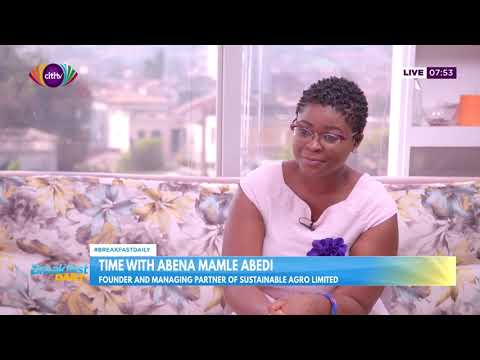 Time with Abena Mamle Abedi   Breakfast Daily