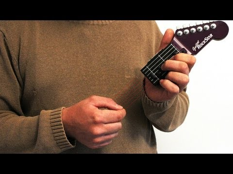 ACDC Back in Black on Tchibo Toy Guitar