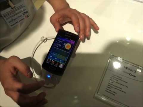 Samsung Wave 3: Anteprima video Samsung Wave 3