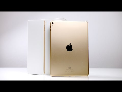 Youtube Video Apple iPad Pro 9.7 Wifi + Cellular 32 GB space grau