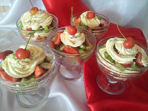 Фруктовый салат. Десерт за 5 минут