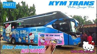 Video SENSASI NYOBA HELLO KITTY BALAP! DRIVER Ex HARYANTO! Trip Report KYM Trans [PART 1] MP3, 3GP, MP4, WEBM, AVI, FLV Agustus 2019
