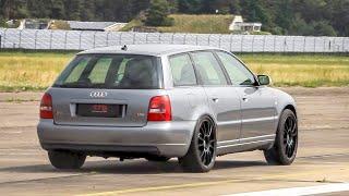 1300HP Audi S4 Avant B5 (Supercar Killer!) 320 Km/h Half Mile Drag Race!