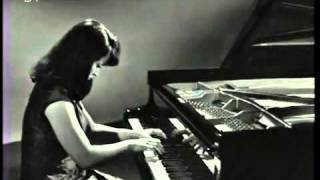 Liszt, Hungarian Rhapsody No.6, Martha Argerich 1966