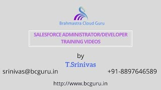 Salesforce Training Videos – Discussion on Admin Concepts
