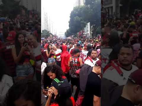 Flamengo Campeão da Libertadores Av Presidente Vargas(2)