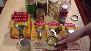 Review Of A Rare Vintage Pry-A-Lid Jar Opener Opens Canning Jars & Many Others.  For Arthritic Hands