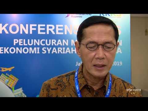 Presiden Jokowi Luncurkan Masterplan Ekonomi Syariah Indonesia 2019 2024, Jakarta, 14 Mei 2019