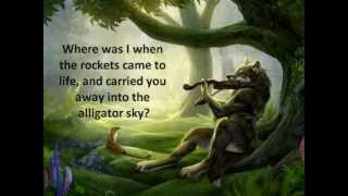 Alligator Sky (no rap) Owl City lyrics