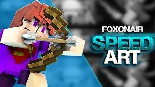 Speedart | YouTube Banner - FoxOnAir