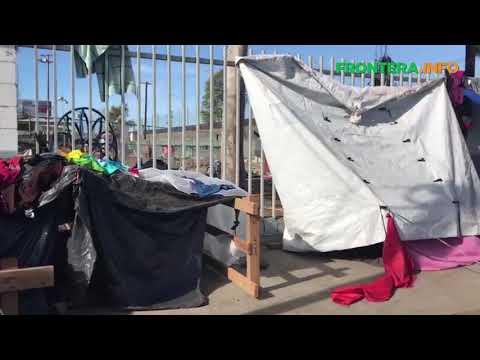 Deciden quedarse una centena de familias centroamericanas en albergue Benito Juárez