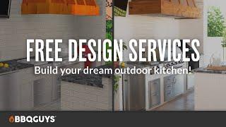 Free Outdoor Kitchen 3D Design Service | BBQGuys