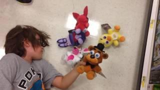Target shopping Five Nights at Freddy's FNAF plush