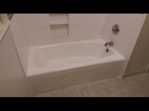 Como restaurar tinas de baño
