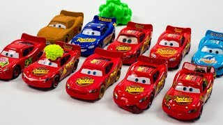 Lightning McQueen Multiplier Clones Everywhere Disney Cars Toys Movies   ACTION