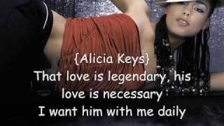 Brotha - Alicia Keys featuring Angie Stone and Eve (with Lyrics)