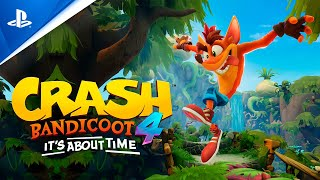 PlayStation Crash Bandicoot 4: It's About Time – Gameplay tráiler PS4 en ESPAÑOL anuncio