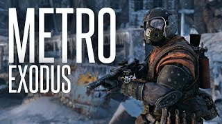 ESCAPING THE METRO - Metro: Exodus Walkthroughski Episode 1