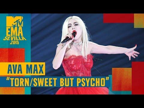 "Ava Max  – ""Torn / Sweet But Psycho"" (LIVE) | MTV EMA 2019"
