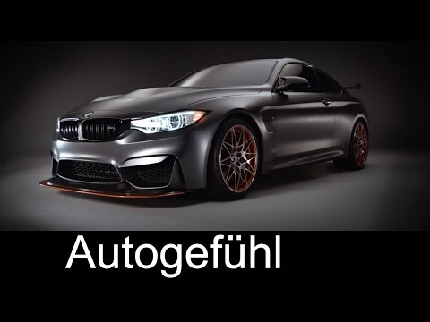 BMW Concept M4 GTS technology showcase preview #BMWM - Autogefühl