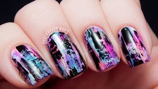 TUTORIAL: Distressed Nail Art (Punk/Grungy Effect)