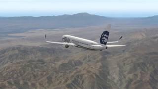 Copa Airlines 144 | X Plane 11 737-800 Zibo Mod RNAV Approach