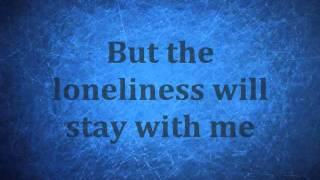 The Lonely- Christina Perri, Lyrics