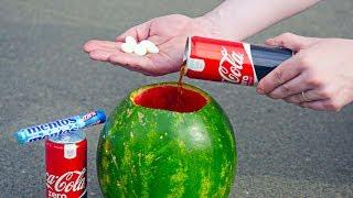 5 CRAZY EXPERIMENTS With Coca Cola