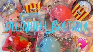 GIGANTIC DELIGHTFUL BOUTIQUE SQUISHY PACKAGE!! HUGE MILLIE AND BILLIE!!