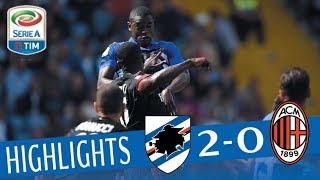 Sampdoria - Milan - 2-0 - Highlights - Giornata 6 - Serie A TIM 2017/18