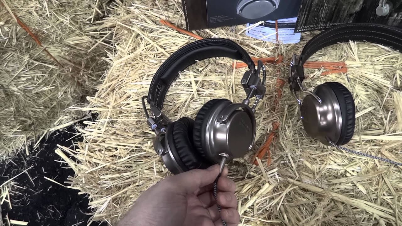 California Headphones Hands On CES 2012 thumbnail