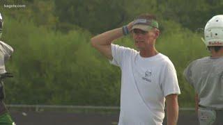 Rudder Head Football coach Greg Morgan is retiring
