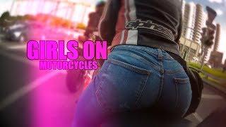 ДЕВУШКИ НА МОТОЦИКЛАХ || ТЕМА ПОПЫ РАСКРЫТА ??? || GIRLS ON MOTORCYCLES