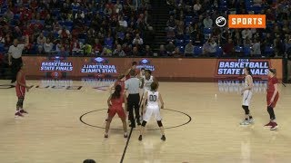 2019 Basketball State Finals: 6A Girls - Bentonville vs. Northside