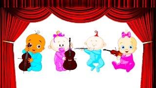 9 часов - девять часов длинные - детские песни - колыбельные - музыка перед сном ребёнка - малыш
