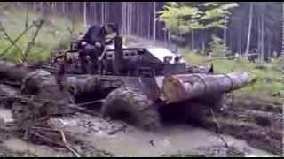 Collecting Trees In Siberia   Zwózka Drzew Na Syberii