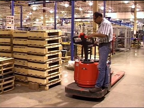operating electric pallet jacks safely training video