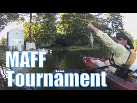 MAFF Kayak Fishing Tournament – Dudley Pond, Wayland, MA