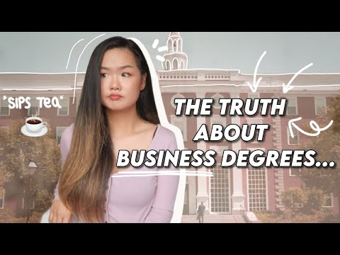 5 Reasons Why You Shouldn't Study Business Management Degree