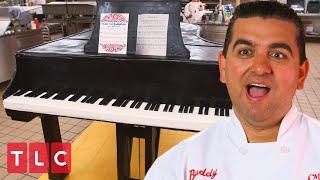 A Life-Size Piano Cake!   Cake Boss