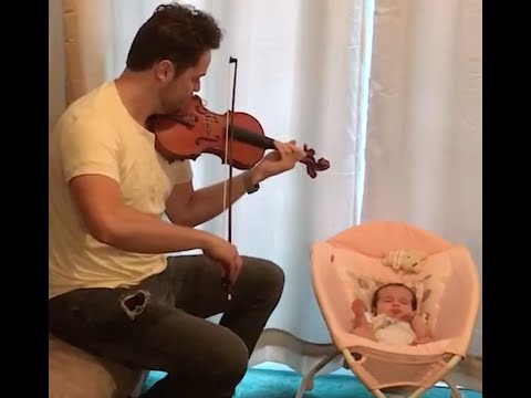 How To Put A Baby To Sleep With A Violin!